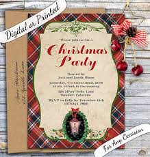 11 best christmas party invitations images on pinterest
