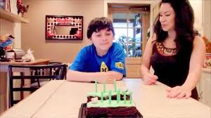 simple minecraft cake diy youtube