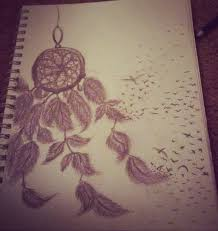 drawn dreamcatcher cool eye pencil and in color drawn