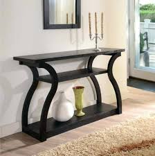 Black Gloss Console Table Modern Black Gloss Console Table Espresso Contemporary Loop Home