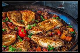 cuisine berbere berbere chicken with pulses artandkitchen