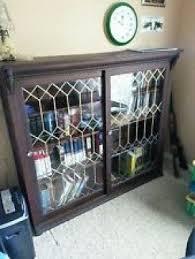Glass Door Bookshelves by Oak Bookcases With Glass Doors Foter
