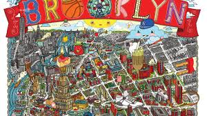 Brooklyn Safety Map Brooklyn Illustrated Map