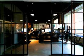 industrial design office offices with an industrial interior