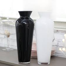 White Glass Vases Vases Wall Picture More Detailed Picture About Black And White