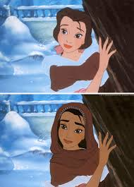 si e social disneyland check out disney princesses reimagined with different races