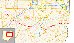 Ohio County Map With Roads by Ohio State Route 39 Wikipedia