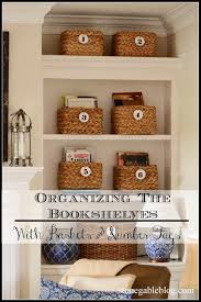 Organizing Bookshelves by Organizing The Bookshelves Stonegable