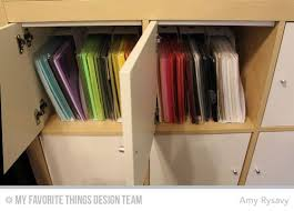 Kallax Filing Cabinet Prairie Paper Ink 5 Days To An Organized Crafty Stash Day 4