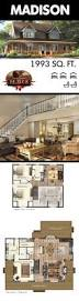 Floor Plans Open Concept by Best 25 Open Concept House Plans Ideas Only On Pinterest Open