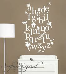 Alphabet Wall Decals For Nursery 165 Best Abc Images On Pinterest Letters Baby Room And