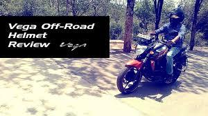 vega motocross helmet vega helmet off road dull black first look india youtube