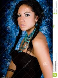 free mative american braids for hair photos girl native american indian woman with braids stock image image