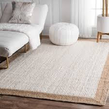 Burlap Area Rug Jute 5x8 6x9 Rugs For Less Overstock