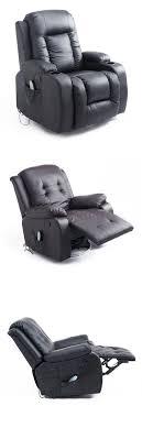 homcom pu leather rocking sofa chair recliner electric massage chairs homcom pu leather heated vibrating massage
