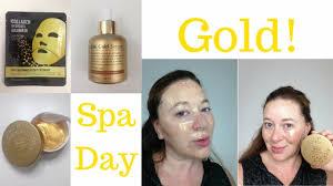 Serum Gold masqueology 24k gold mask serum eye gel patch review