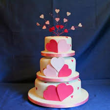 heart wedding cake lola heart shaped wedding cake with heart decorations