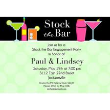 stock the bar party stock the bar invitation options polyvore