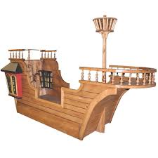 Pirate Ship Bunk Bed Blackbeard S Pirate Ship Bed W Optional Trundle