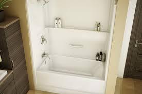 shower one piece bathtub wonderful one piece tub shower units