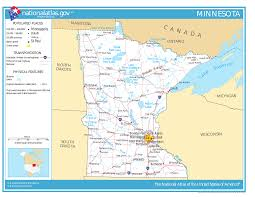Map Of The United States With Compass by Geography Of Minnesota Wikipedia