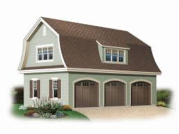 barn style garage with apartment plans link i like this roof line unique garage loft plan 028g 0029