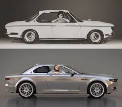 bmw vintage coupe bmw e9 2000cs reimagined in new design study motor trend wot