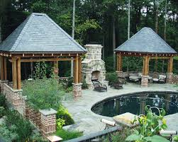 nice simple design hardscape patios backyard that can be decor