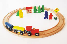 aliexpress com buy baby toys beech wood train assembling set