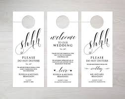 wedding door hanger template best wedding door hanger template ideas styles ideas 2018