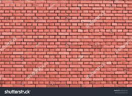 peach echo colored brick wall background stock illustration