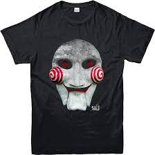 Saw Mask Saw Mask T Shirt Saw Movie Jigsaw Inspired Design Top Ebay