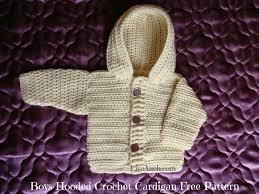 Boys Cardigan Free Crochet Pattern With Hood Free Crochet