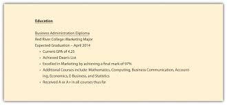 Education Listing On Resume Listing Graduate Coursework On Resume