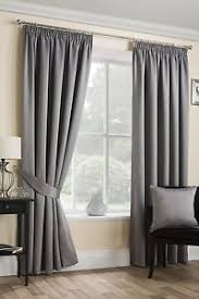 Luxury Grey Curtains Luxury Grey Satin Curtains Soft Touch Pencil Pleat Top Ready