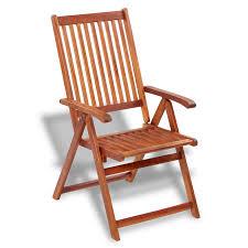 Acacia Wood Outdoor Furniture by Vidaxl Outdoor Dining Chair 2 Pcs Acacia Wood Vidaxl Com
