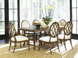 Dining Room Chairs With Wheels Tommy Bahama Dining Room Tables Used Set Style Kingstown Furniture