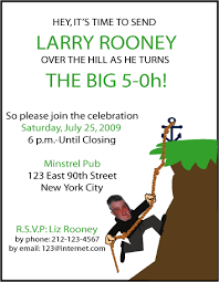 funny surprise 50th birthday party invitations u2013 wedding