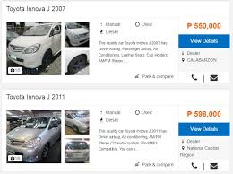 toyota philippines used cars price list should i buy a car that runs on gasoline or diesel