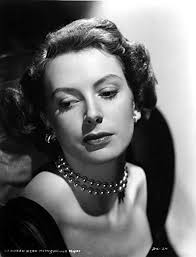 pearl necklace woman images Posterazzi deborah kerr wearing black dress in pearl jpg