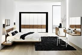 contemporary solid walnut bedroom furniture set riletto by team7