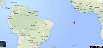 ascension islands map this remote island is really really really far away from where