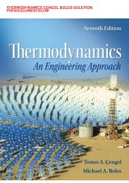 solution manual for thermodynamics an engineering solution manual