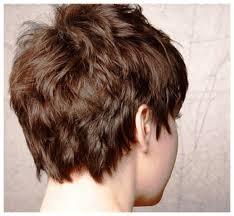 back view of wedge haircut short choppy hair back view very short hair back viewback view