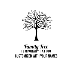 collection of 25 family tree sle