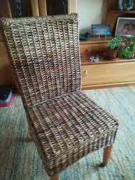korbstühle esszimmer 4 stück korbstühle korbstuhl esszimmer in bayern zirndorf ebay