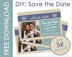save the date ideas diy diy save the date cards entertaining