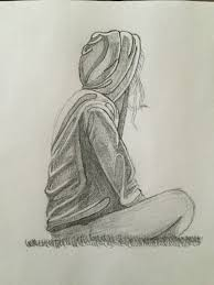 simple pencil sketches of sad boy cute love drawings pencil art