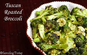 tuscan roasted broccoli thanksgiving or anytime side dish