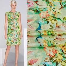 flowers printed fabric 100 cotton fabric for women dress shirt